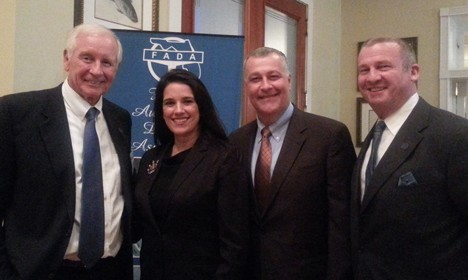 FADA Chairman Bob Lee, Senator Flores, Representative Albritton, and FADA President Ted Smith
